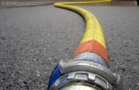 Pipe of firefighter